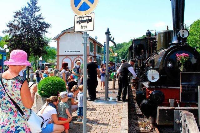 Zum Jubiläum des Chanderlis kommen 4 historische Züge ins Kandertal