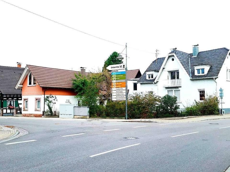 Ein Entwurf der Verwaltung für die Eck...rden die Schilder aufgeräumt aussehen.  | Foto: Gemeinde Neuried
