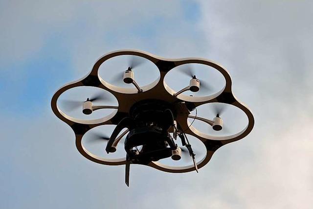 Bald wird der Landkreis Lörrach mit Hilfe von Drohnen vermessen
