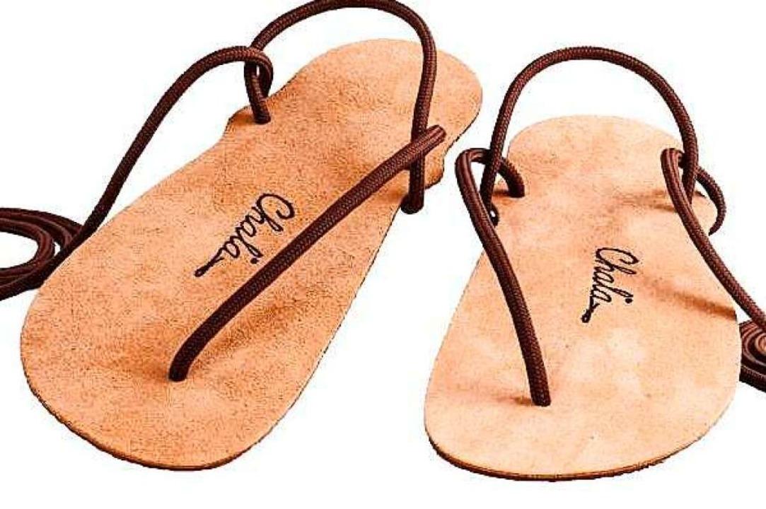 Die minimalistische Chala-Sandale  | Foto: Gretzmeier & Dickmann