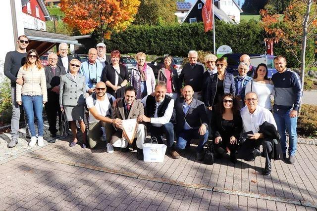 Delegation aus italienischer Partnergemeinde Oliveri besucht Breitnau