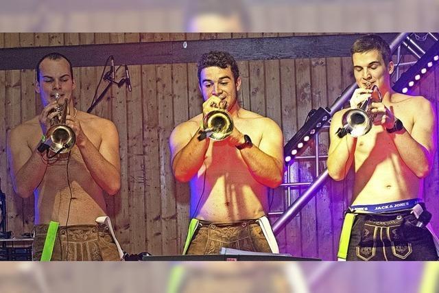 Drei Bands zeigen, wie Brass geht