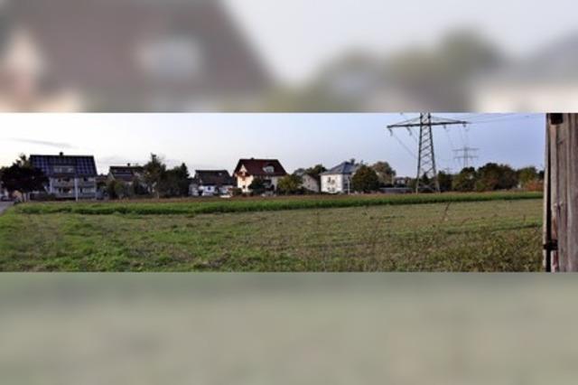 Suche nach Wohnbaufläche
