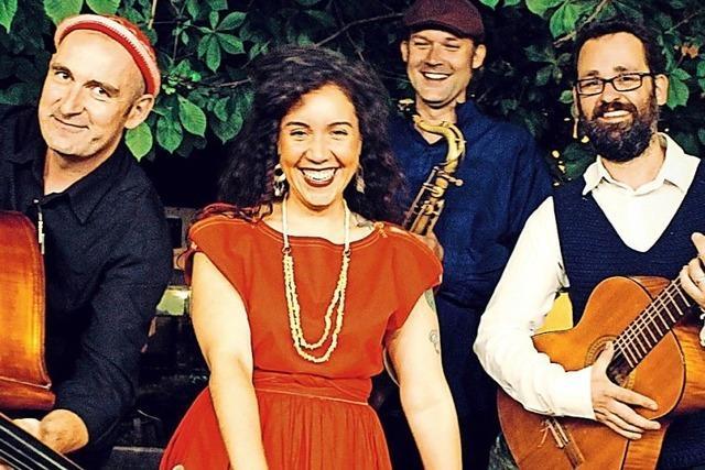 Jazz-Singer-Songwriterin Sängerin Judith Tellado zu Gast in Müllheim