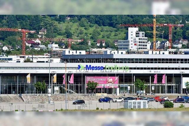 Freiburger Messehalle am Dienstag wegen defekter Leitung geräumt