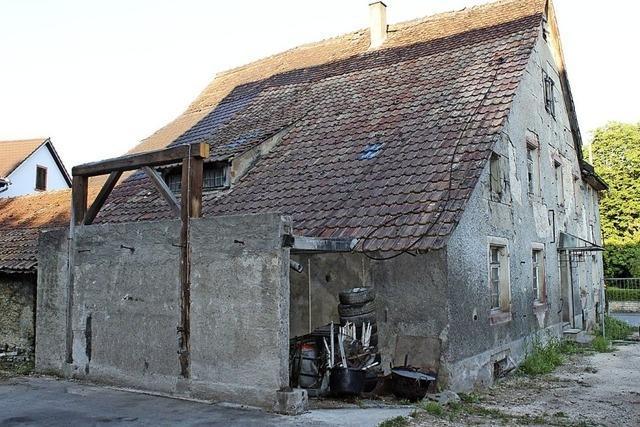 Wohnhaus wird kernsaniert