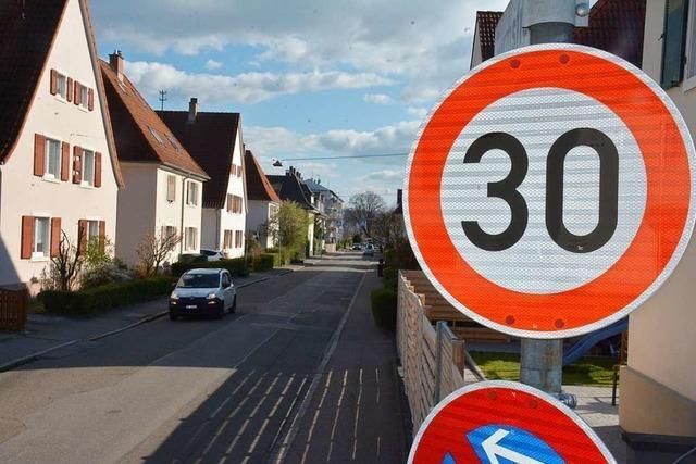 In Weil am Rhein gilt wohl bald flächendeckend Tempo 30