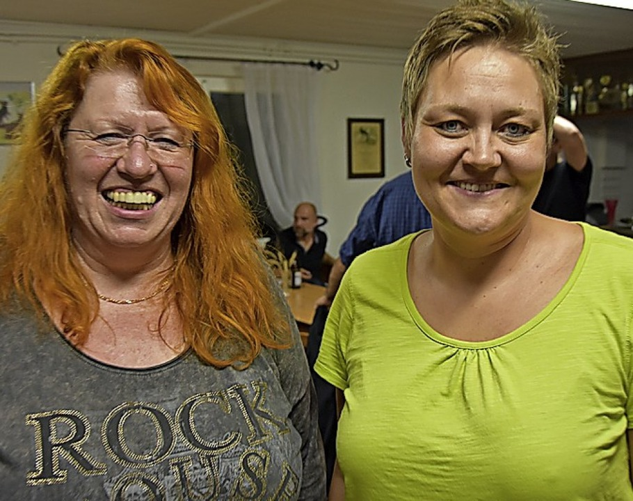 Das Spitzenduo: Marianne Müller (links) und Sabine Gampp.   | Foto: Heinz und Monika Vollmar