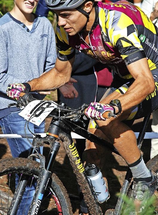 Die Renntaktik des Münstertälers Julia...UCI-Marathon in Nordspanien voll auf.   | Foto: Ruoff