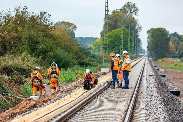 Ausbau der Breisgau-S-Bahn verzögert sich zwischen Gottenheim und Breisach