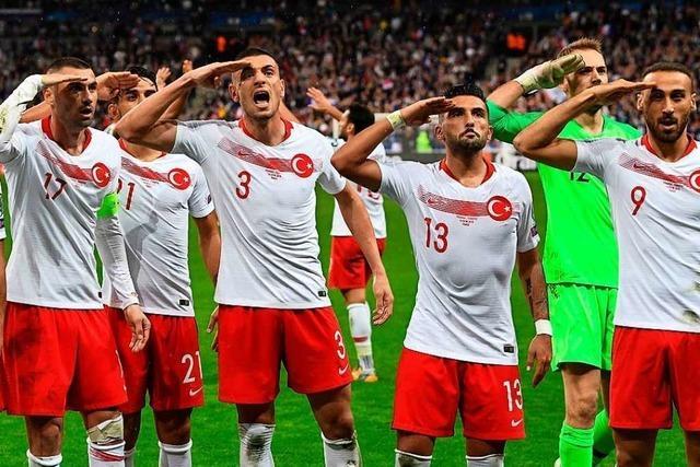 Der türkische Torjubel zeigt, wie Politik den Sport vergiften kann