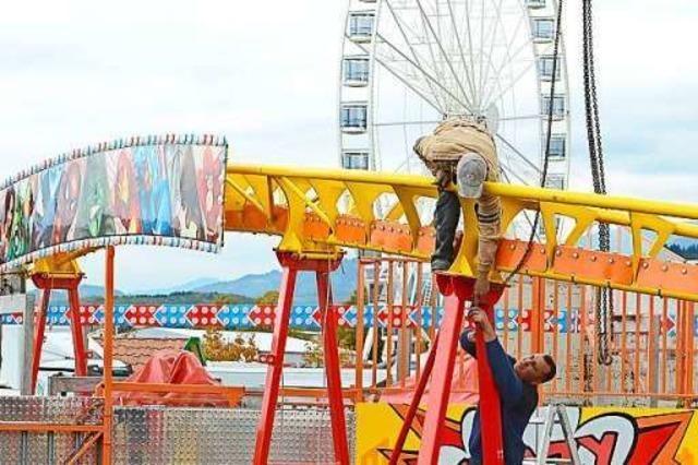 Veranstalter rechnen mit 150.000 Besuchern zur Freiburger Herbstmess'