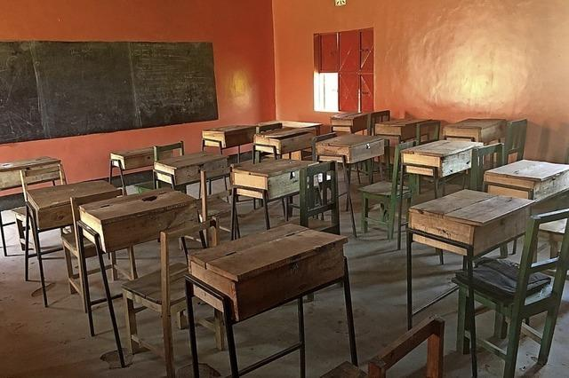 Afridunga will zwei neue Klassenräume bauen