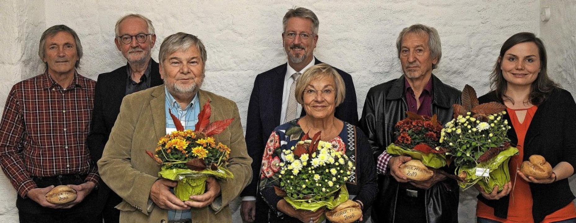 Die diesjährigen Preisträger der Lahre..., Roland Burkhart und  Kathrin Ruesch   | Foto: Bettina Schaller