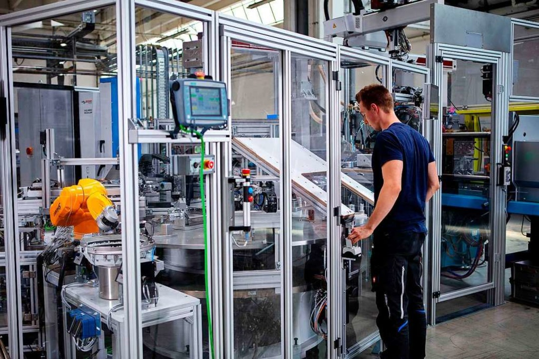 Die 750 Beschäftigten am Standort werd...Prozesse im Arbeitsalltag unterstützt.  | Foto: Grohe