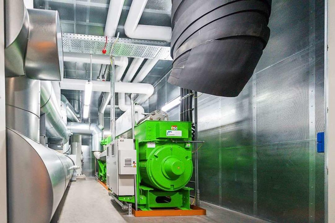 Das Blockheizkraftwerk wurde 2016 eingerichtet.  | Foto: Grohe