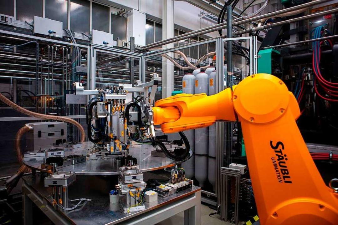 Viele Prozesse sind automatisiert.  | Foto: Grohe