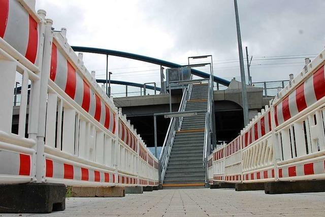 Komplette Barrierefreiheit gibt es an den Weiler Bahnhöfen erst ab 2025
