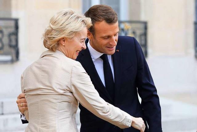 Macron meint Frankreich, wenn er Europa sagt