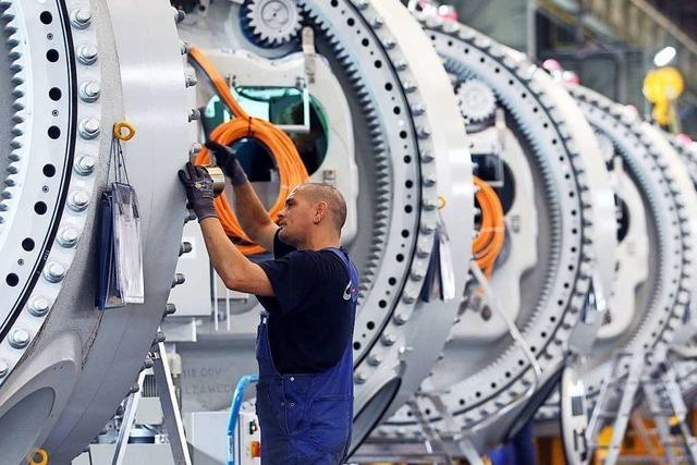 Die Stimmung der Unternehmen in der Region ist gesunken