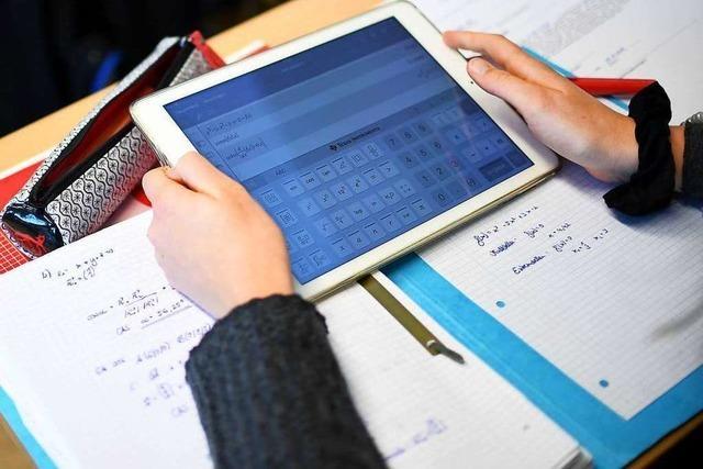 Lahrer Schulen bekommen zwei Millionen Euro für Digitales