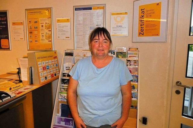 Postbank und Post in Dundenheim schließen