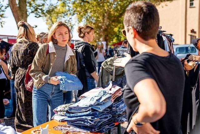 Der nächste Frollein Flohmarkt Freiburg steigt am 16. November im E-Werk
