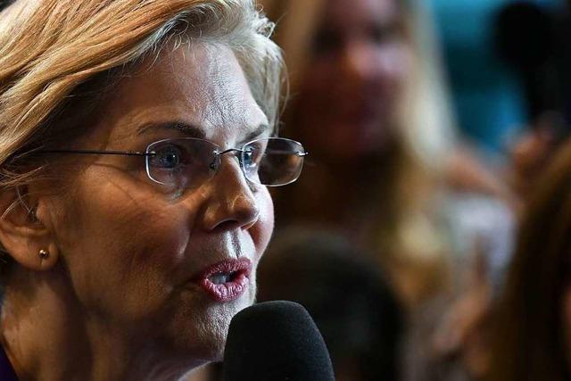 TV-Debatte: Warren wird zum Ziel parteiinterner Attacken