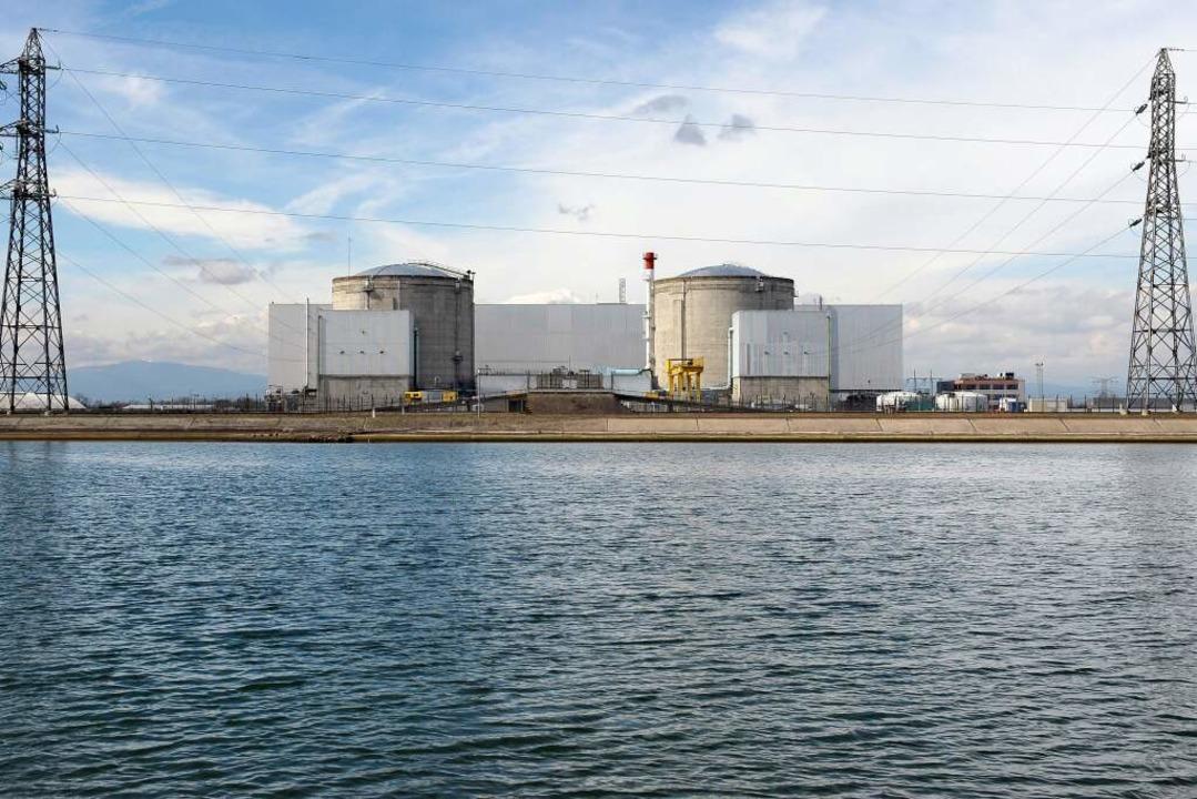 Was bleibt nach dem Rückbau vom Atomkraftwerk Fessenheim? (Archivfoto)  | Foto: FREDERICK FLORIN