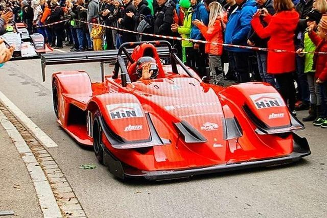 Der Sieger des Deutschen Bergcups für Rennsportfahrzeuge kommt aus Elzach