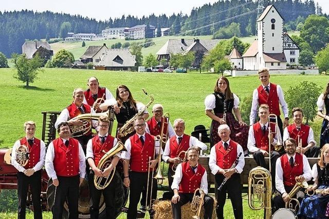 Musikvereine Niederwihl und Saig in Lenzkirch-Saig