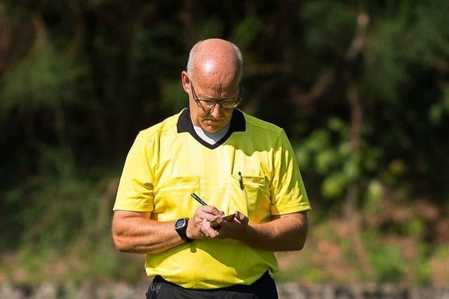 Wie verhalten sich südbadische Schiedsrichter beim Salut-Jubel?