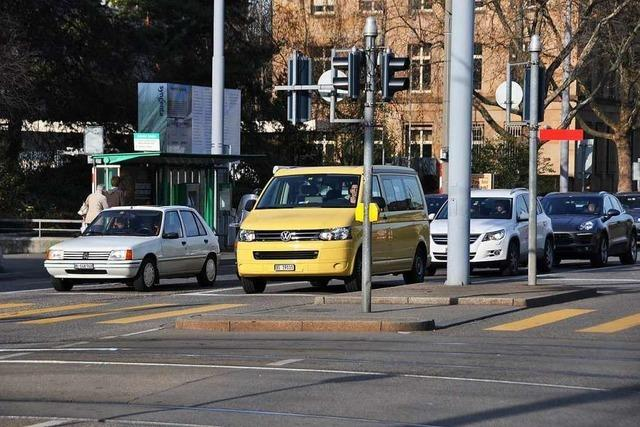 Basel bremst den Autoverkehr in der Stadt
