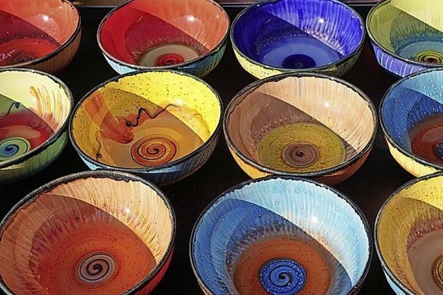 Keramik auf dem Viehmarkt