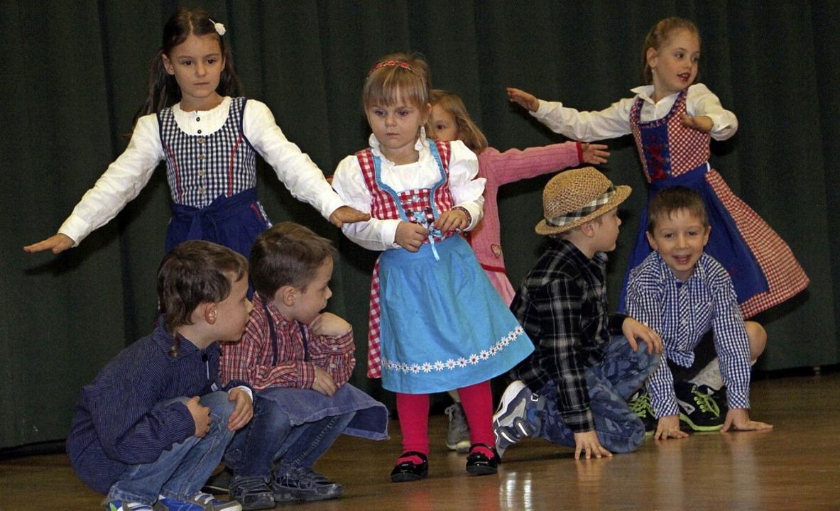 Die Bereitstellung von Betreuungsplätz...em Theaterstück unter Beweis stellen.     Foto: Herbert Trogus