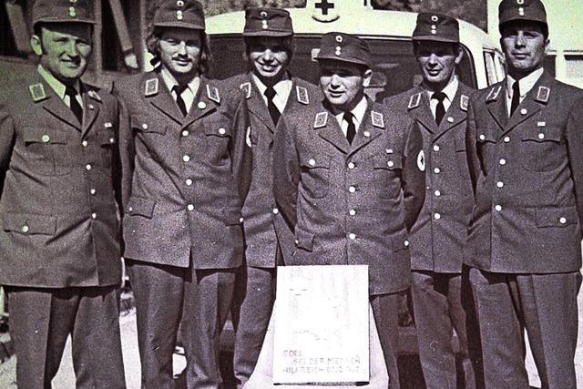 Gersbachs Rotkreuzler blicken auf 50 Jahre zurück