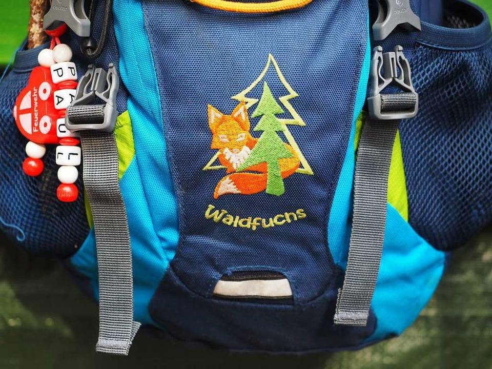 Echte Waldfüchse gehen in den Waldkindergarten.  | Foto: Susanne Gilg