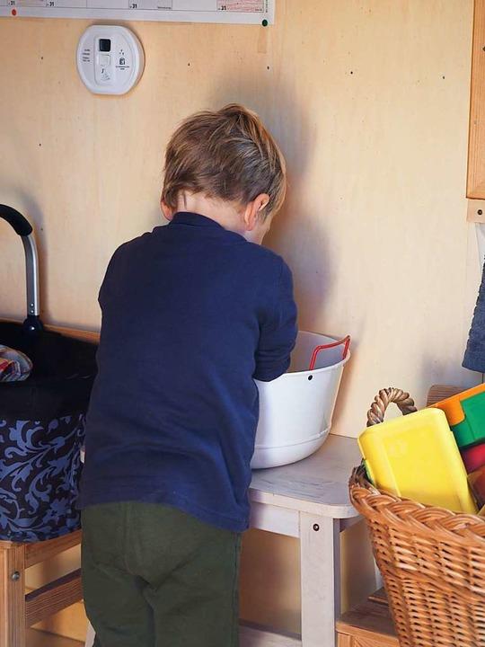 Händewaschen ist wichtig.  | Foto: Susanne Gilg