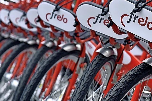 Die Frelo-Räder kommen in Freiburg sehr gut an