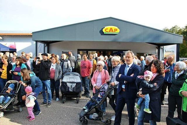 In Pfaffenweiler hat der erste inklusive Supermarkt Südbadens eröffnet
