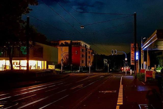 Nächtlicher Stromausfall in Teilen von Freiburg und im Hexental