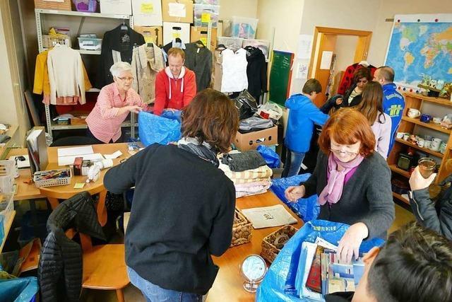 Die Kleiderkammer in Istein hat Verantwortliche und Helfer gefunden