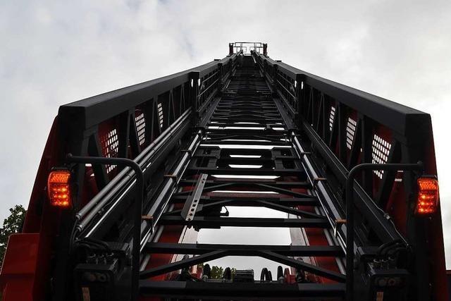 Stadt Rheinfelden kauft Drehleiter für 850 000 Euro, muss aber nur knapp die Hälfte zahlen