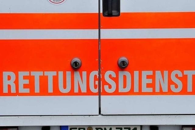 Frau wird in Lörrach auf dem Fußgängerüberweg von einem Auto angefahren