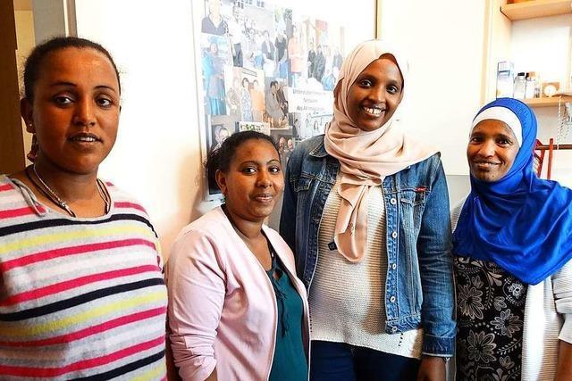 Die Küche Eritreas stand beim Kochtreff in Schopfheim im Mittelpunkt