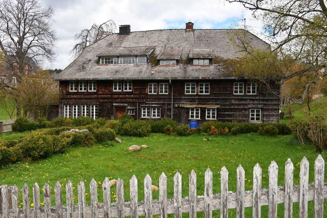 Der Altbirklehof, einer der ältesten Schwarzwaldhöfe, wird saniert.    Foto: Thomas Biniossek