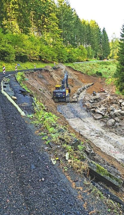 Die Straßensanierung Heidenmühle in Ri...genbach soll 2020 fortgesetzt werden.   | Foto: Wilfried Dieckmann