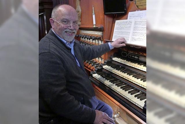 Gisbert Wüst gestaltet die nächste Orgelmusik zur Marktzeit in Bad Säckingen