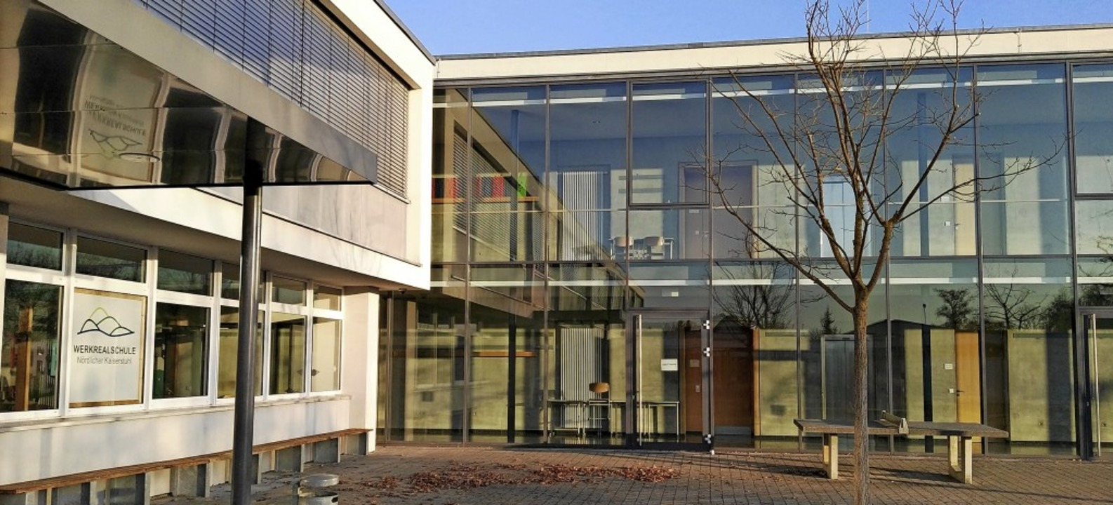 Die Werkrealschule Nördlicher Kaiserst...ldungsangebot in der Region bleiben.      Foto: Martin Wendel