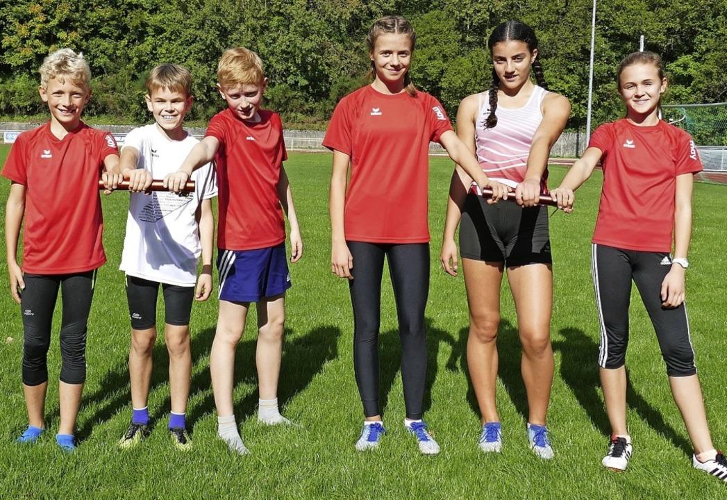 Erfolgreiche Athleten (von links):  Pe...cher, Ceren Bayram und Emma Rohrbach.   | Foto: Privat
